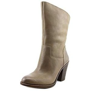 Lucky Brand 9M EMBRLEIGH Heeled Boots Brindle Pull